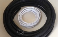Window Rubber with White Infill, 10m Length