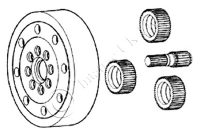 Front Axle Planetery Kit with bearing – APL 330