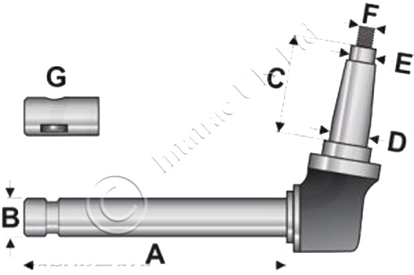 Axle Spindle – 67526C91