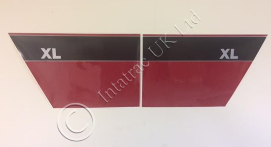 Red + Black XL Door Decal Set – 125914A1, 125913A1 & 220915A1, 220916A1